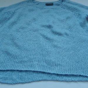 Anthropologie Sweaters - Anthropolgie.-Wooden Ships  Blue Oversized Sweater
